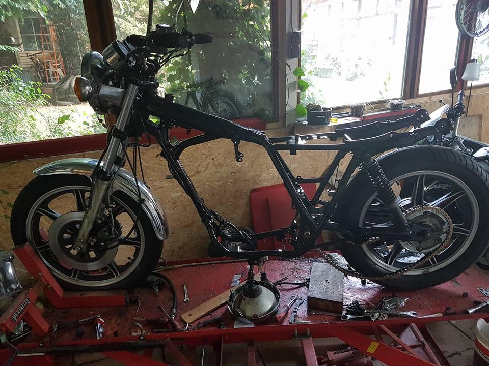 Yamaha SR500 – Neuaufbau